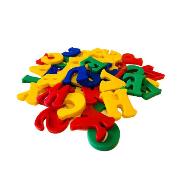 Alfabeto Móvel Plástico