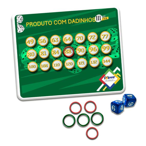 Jogo Produto com Dadinhos III