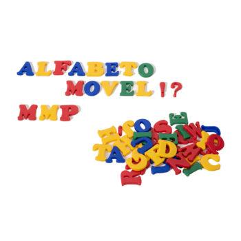A002-A Alfabeto Móvel Plástico 1