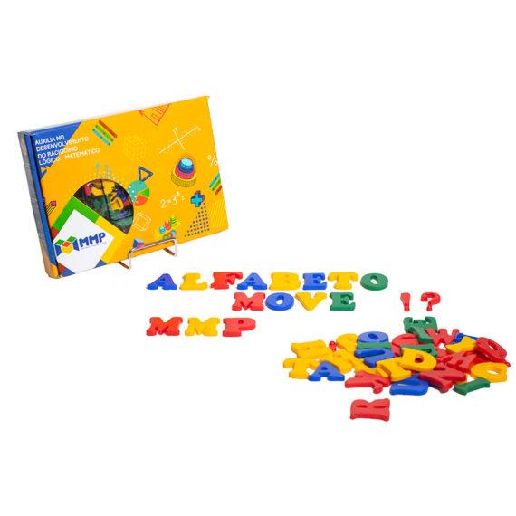 A002-A Alfabeto Móvel Plástico 3