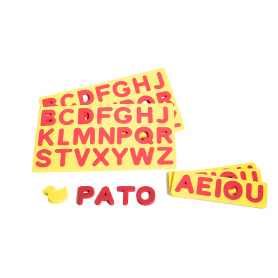 A002 - Alfabeto Móvel Eva 3