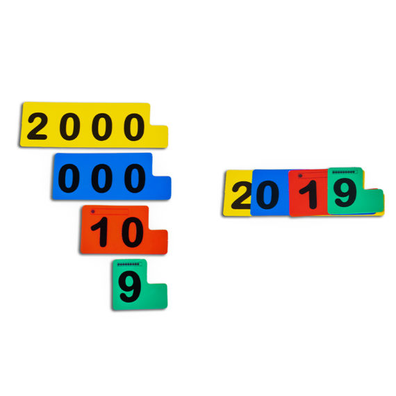 A021-A - Fichas Sobrepostas para Numeração Decimal - Aluno 1
