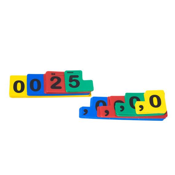 A021 - Fichas Sobrepostas para Numeração - Aluno 2