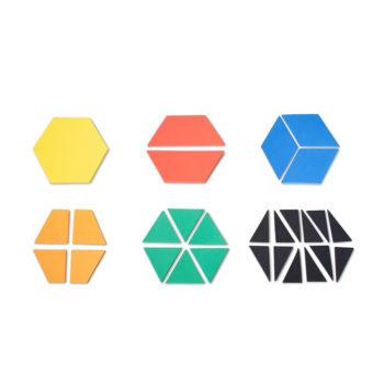 A029-A - Frações no Hexágono 1