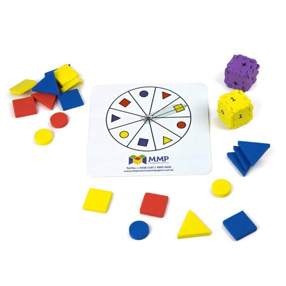 A059 - Jogo Quantidades + Formas e Cores 1