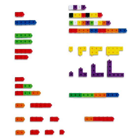 A067-A - Cubos de encaixe (Linked Cubes) 2