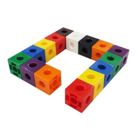 A067-A - Cubos de encaixe (Linked Cubes) 8