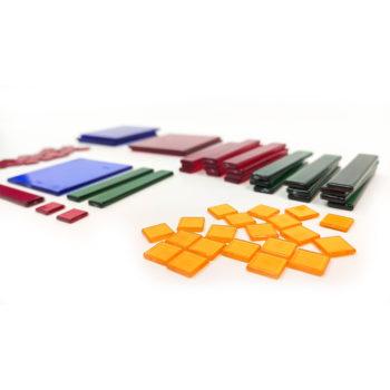 A075-B - Kit Polinômios - em Plástico Translúcido 2