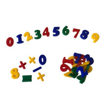 A085-A - Numerais 0 a 9 - Plástico 1