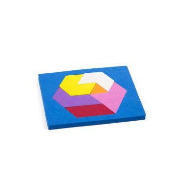 A094 - Quebra cabeça Hexagonal - EVA 1