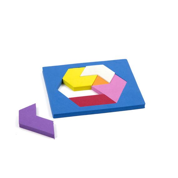 A094 - Quebra cabeça Hexagonal - EVA 2