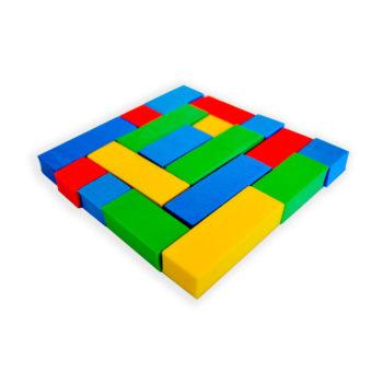A095 - Quebra-cabeça Quadrado de 4 Cores 1