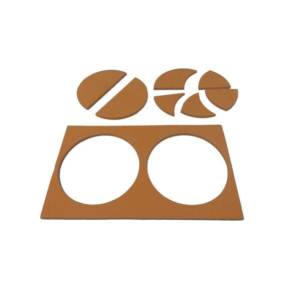 A102 - Tangram Mini - Circular