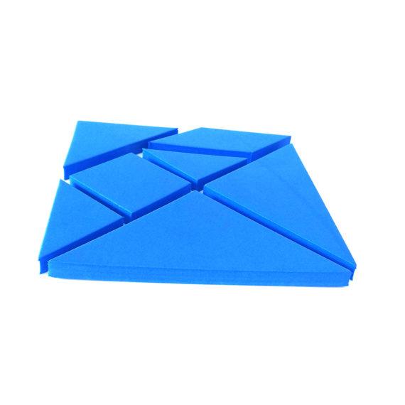A111 - Tangram Quadrado - 10cm x 10cm Pacote com 10 2