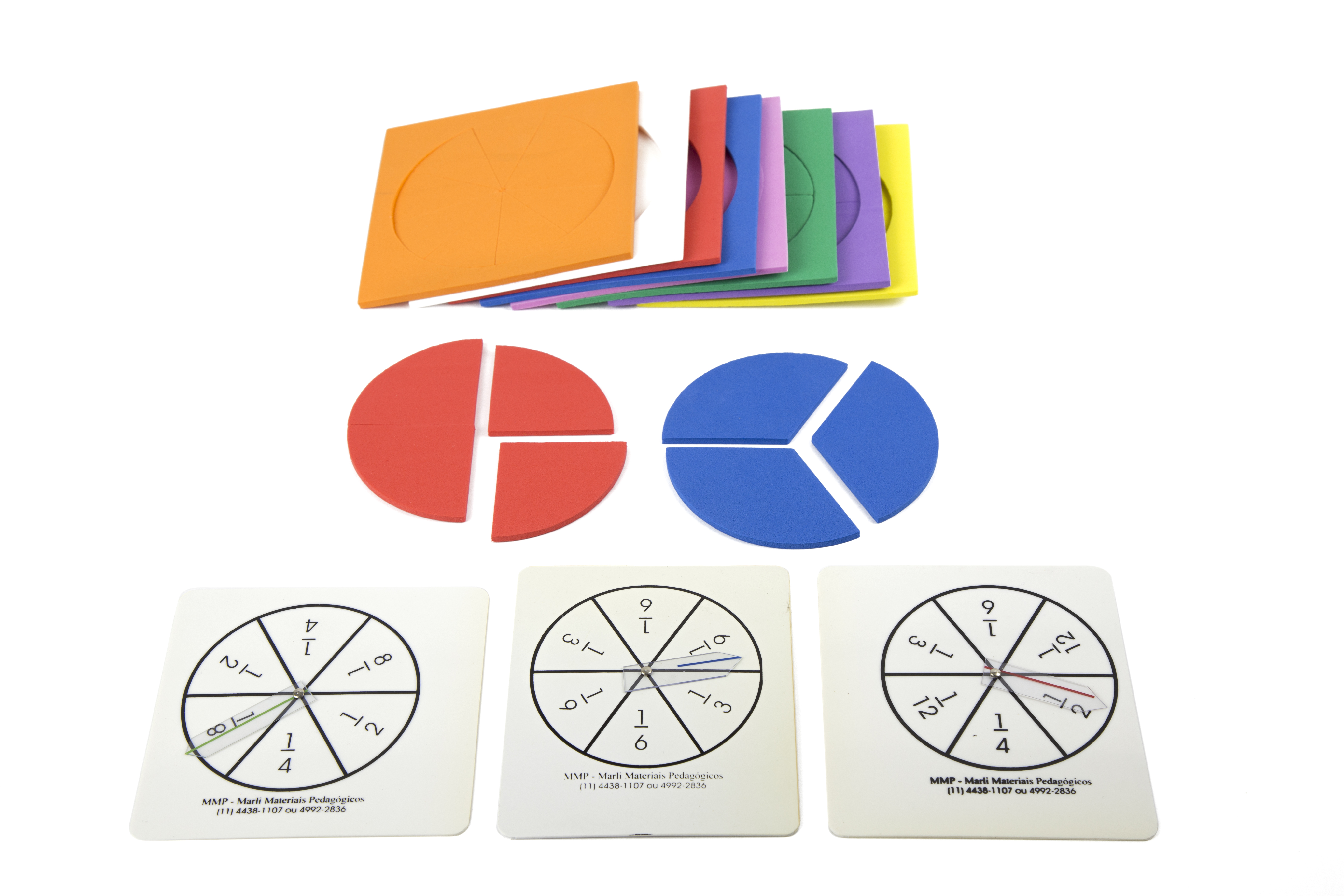 Jogando com as frações circulares