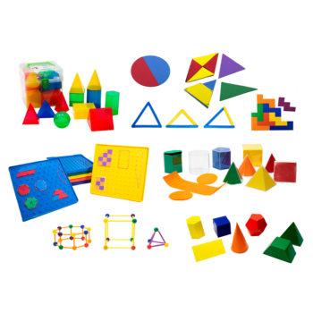 KMG - Kit Manipulando a Geometria (9 itens)