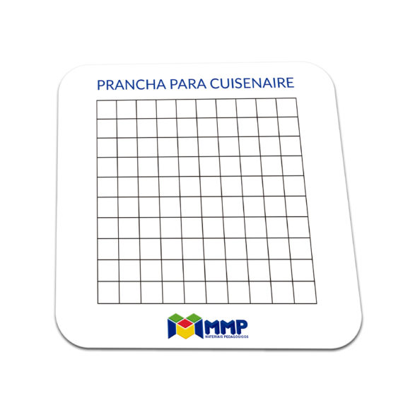 P005-A - Barrinhas Coloridas (Cuisenaire) - Prancha Imantada