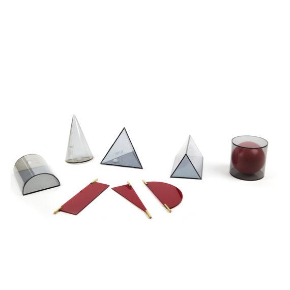 P125 - Sólidos Geométricos em Acrílico 10 peças 1