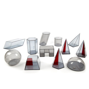 P125 - Sólidos Geométricos em Acrílico 10 peças 5