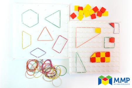 Geoplano Quadrado e Triangular - (Todos)