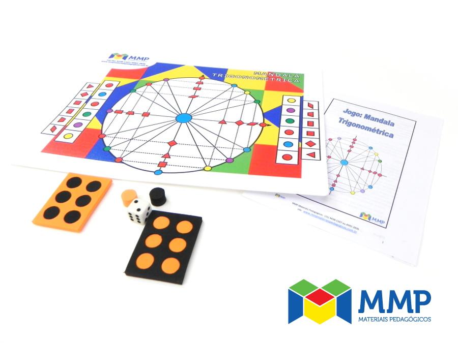 Jogo Mandala Trigonométrica (EM)
