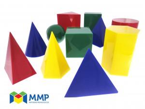 Sólidos Geométricos em Plástico - (EFI-EFII-EM)