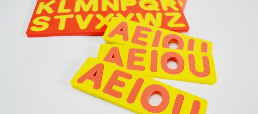 Alfabeto Móvel - (Letras Móveis) (EI-EFI)