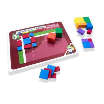 Kit 8º Ano - ALUNO (Kit Álgebra Mini + Jogando com a Álgebra)