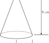 Pirâmide de base circular (cone)
