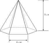 Pirâmide de base hexagonal