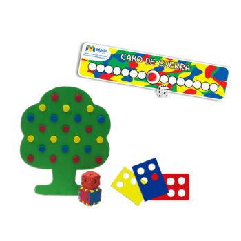 Kit Maternal II (Jogo da árvore + cabo de guerra)