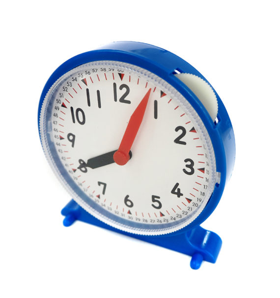 Relógio Didático de Engrenagens