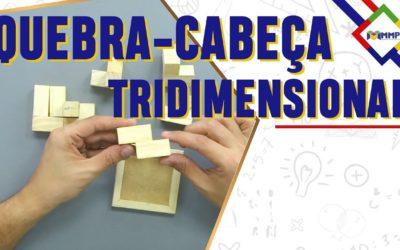 Quer saber como trabalhar com um quebra-cabeça tridimensional?