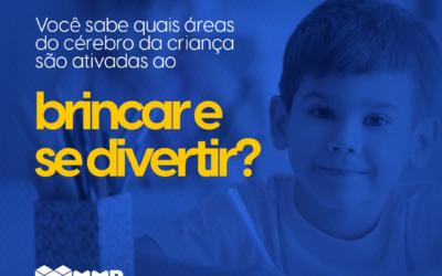 Você sabe quais áreas do cérebro da criança  são ativadas ao brincar e se divertir?